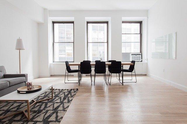 living room hard floor refinishing