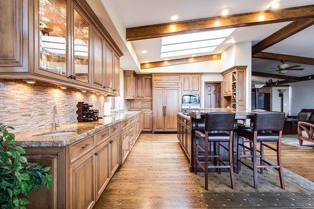 kitchen hard floor refinishing